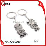 Wholesale custom keychains Wedding invitation wedding gif couple key chain