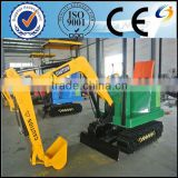 outdoor games machine children excavator/amusement park rides excavator for children
