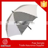garden swing large size auto open straight promotional golf umbrella                                                                         Quality Choice