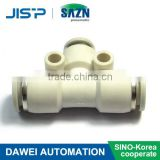 SAZN SPE pipe fitting Pneumatic quick couplings, Plastic Pneumatic Air Fitting Pneumatic Fitting Push In Fitting