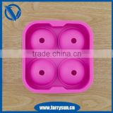 2015 Best selling silicone ice ball tray mold/ sphere ice ball molds/large ice ball mold