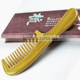 Natural Green Sandalwood Comb, Wide Tooth Comb