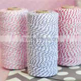 Wholesale 100% Cotton Divine Twine, 110 yard/spool Party Gift Packing Colored Bakers Twine