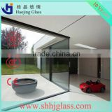 laminated glass price/ultra white laminated glass clear coloured low-e with CE certificate