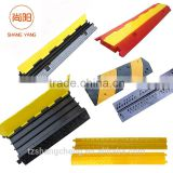 Rubber Floor Cable Wire Cover Tidy Protector Safety Trunking Bumper Ramp