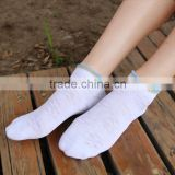 fashionable and cute white cotton lace socks for school girls and women
