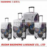 BS1501 PC luggage/Zip luggage/Frame Luggage/Kids luggage/Cabin size suitcase/pc luggage trolley/foldable 20 inch luggage trolley