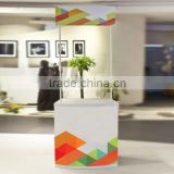 Pvc+ABS material display table portable exhibition table