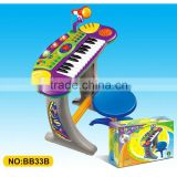 Educational Musical Instrument Kids Electric Organ toy with Microphone
