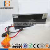 RoHS/CE /UL best safe lithium ion high capacity lithium polymer battery ebike battery pack with charger and internal BMS