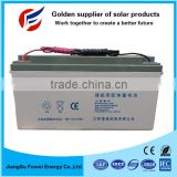 Maintenance free deep cycle solar energy storage battery 24V 150Ah for solar system
