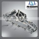 oil cooler cover for TOYOTA 13B 15701-56011 -cooloer cover also supply for 6d125 oil cooler cover