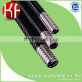 51mm Black PVC coated flexible corrugated electrical conduit pipes