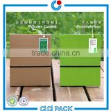 Happy New Year 6 inches corrugated carton double color company custom desk calendar gift box packing                                                                                                         Supplier's Choice
