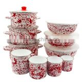 Porcelain Enamel Cookware Set