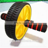 New 2015 Detachable Portable Workout Training Wheel roller Abdominal Roller with free knee pad power wheel