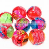 Crystal putty bouncing ball plastic bola cristal saltarina pelota capsule in vending Machine