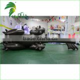 Black Inflatable Water Pool Cartoon Toys / Toothless Dragon / Inflatable Draon With Sexy SPH