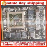 "original for Apple iMac 27"" A1312 AMD Radeon HD 6970M HD6970 2GB VGA GPU Video Graphic Card GDDR5 216-0811000 109-C29657-10"