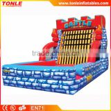 hot sale inflatable Castle Sticky Wall for sale