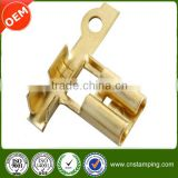 OEM design tinned copper terminal,female crimp copper terminal,creative flange spade copper terminal