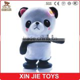 12inch standing soft panda doll with music lovely electronic plush panda toy meet en71 standard animal toy with sound clip