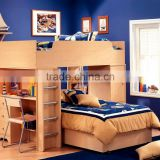 New Style Wooden Double Decker Bunk Bed For Sale