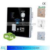 Smart wifi energy saving socket outlet electrical plug,home wall socket WIFI/3G plug wifi socket