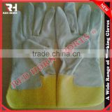Pig Skin Leather Gloves, European Standard