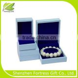 Blue Elegant Luxury Bracelet Gift Box Packaging Design                                                                         Quality Choice