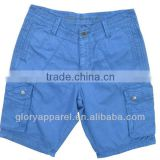 Mens blue capri cargo pants&beach cargo short pants