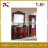 European Style Anquire Good Quality Wholesales Furniture House Hotel including Side Cabinet Bathroom Cabinet Vanity