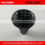 Hotsale YUCHEN Manual MT Car Gear Gaslock Shift Knob For BMW 1 3 5 6 Series E46 E39 E30 E32 E34 E36 E38