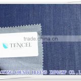 100% tencel denim fabric 21s lyocell denim with twill