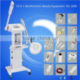 facial steamer with magnifying lamp Cynthia 14 in 1 multifunction beauty equipment RU2008                                                                         Quality Choice
