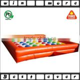 inflatable custom twister game,inflatable games for adults and kids