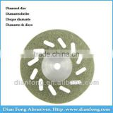 Em19D20 19mm Flexible Miniature Perforated Dental Full Coated Diamond Disc Concrete Grinding Wheel