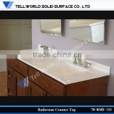 60inch Double squre sinks modern bathroom vanity combo with artificial Quartz countertop