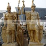 soldier statue, marble statue (customized accept)