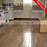 ac4 waterproof waxed wood 12mm crystal surface V-groove painted oak Valinge-click luxury best selling laminate flooring