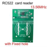 New improved version RC522 wireless IC card reader with fixed hole on board 13.56MHz factory price in stock
