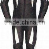 Roadway Safety Leather Sports Suits , Leather Motorbike Racing Suit , Leather Sports Suit , Garments