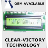 3.3v lcd 16 x 2 character screen LCD display module with blue back light display