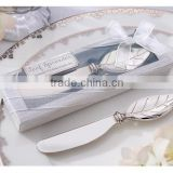 wedding gift and giveaways--New Butter knife Leaf Spreader