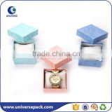 Hot selling colorful paper box manufacturers with inside pillow for watch                                                                                                         Supplier's Choice