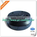 Nodular iron castings OEM AND CUSTOM from China supplier and manufacture with stainless steel 304, iron, aluminum