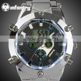 INFANTRY Mens Chronograph Military Army Multi-Function Watch