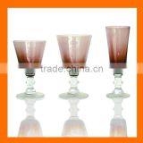 Hand made colored wine glass,drinking set