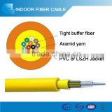 Hot! Indoor Fiber Optic Cable with high strength kevlar yarn wholesale trade directory