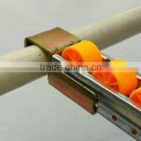 JS Aluminium alloy frame skate wheel, Portable plastic roller conveyor, Fluency strip rail